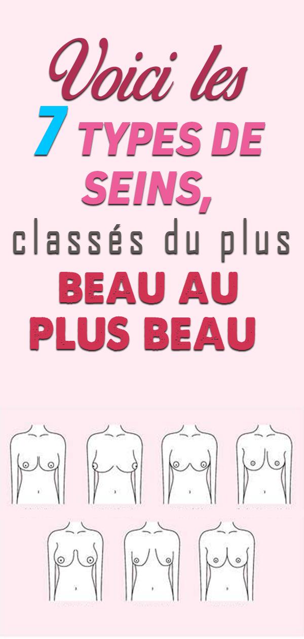 Voici les 7 types de seins, classés du plus beau au plus beau !