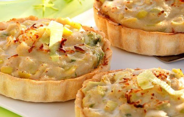 Recette tarte aux poireaux et gruy re - Tarte aux poireaux legere ...