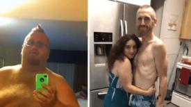 Ce père de 227 kg qui craignait que son fils grandisse sans lui, a finalement réussi à perdre près de 160 kg…