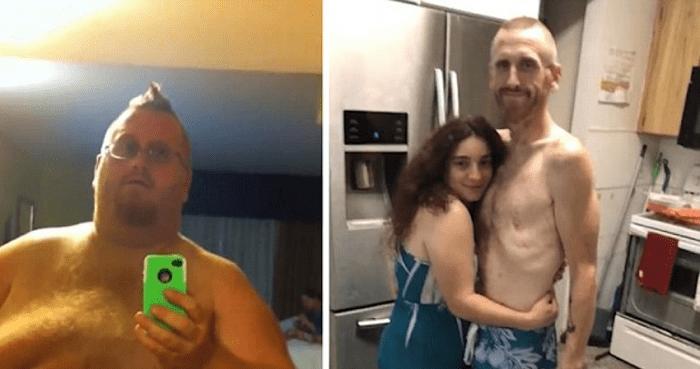 Ce père de 227 kg craignait que son fils grandisse sans lui,mais finalement il a réussi à perdre près de 160 kg…