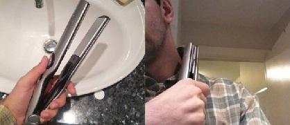 Utilisez le fer à lisser pour repasser vos cols.