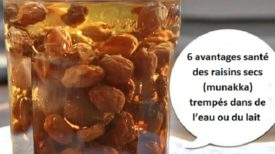 6 avantages santé des raisins secs (munakka) trempés dans de l'eau ou du lait !