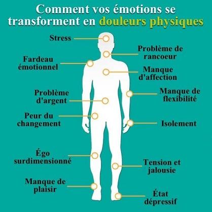 L'incroyable façon dont vos émotions affectent votre santé physique !