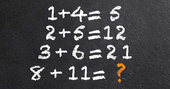 2 méthodes pour résoudre ce test, si vous utilisez la deuxième, vous avez un cerveau hors du commun!