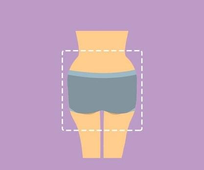 Quels sous-vêtements devriez-vous porter en fonction de la forme de vos fessiers ?