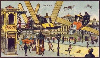 Remontons 100 ans en arrière, et découvrons ce que les gens croyaient que le monde serait aujourd'hui ! Des visions quelque peu étonnantes…