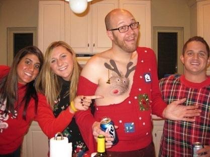 #ReindeerBoob : Quand les femmes décident de décorer leurs seins en renne (caribou)