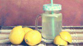 Le citron, l'allié numéro 1 de la détoxication de l'organisme et de la perte de poids !