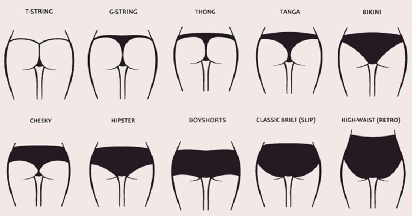 Ce que révèlent vos sous-vêtements à propos de votre personnalité
