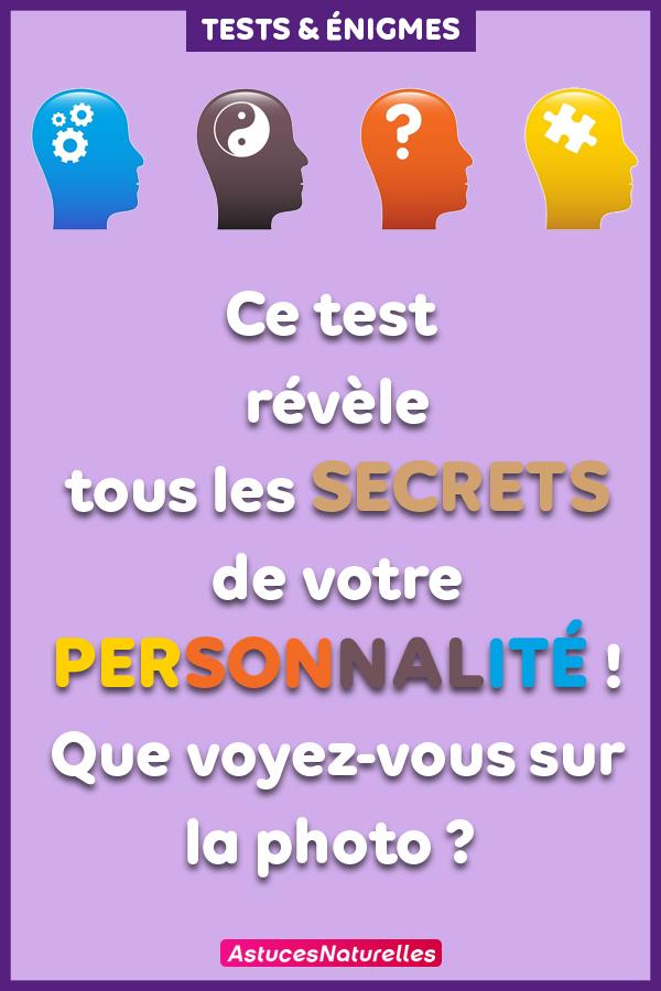 Ce test révèle tous les secrets de votre personnalité ! Que voyez-vous sur la photo ?