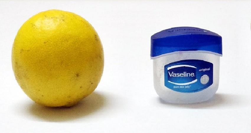 Voici la bonne manière d'utiliser de la vaseline avec du citron pour rendre votre visage lisse et dépourvu de toutes taches.