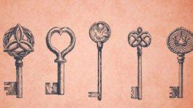 Parmi ces clés, laquelle  vous attire le plus ? Choisissez en une pour débloquer votre magie intérieure !