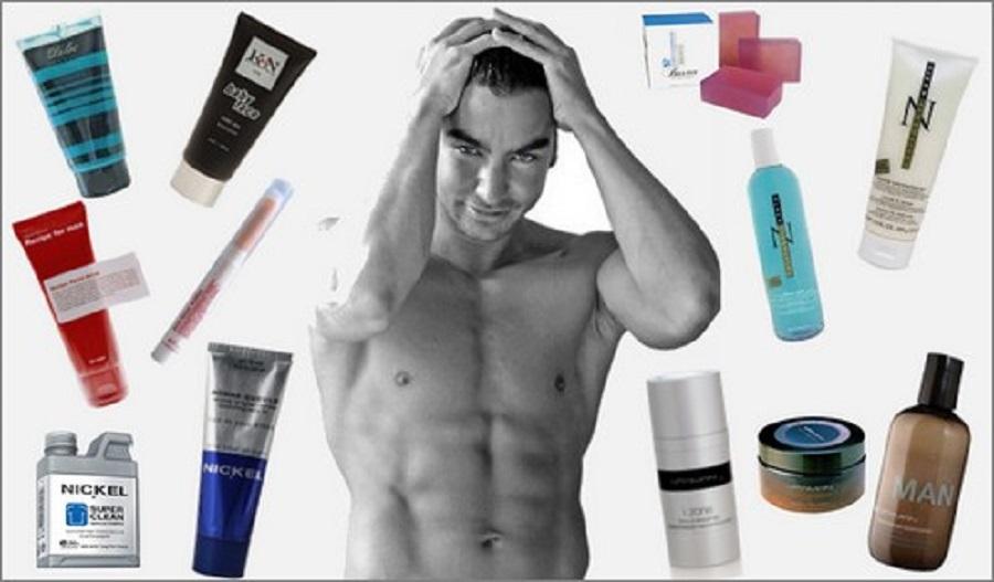 Les hommes ont-ils réellement peur des produits de beauté et de soins de la peau?