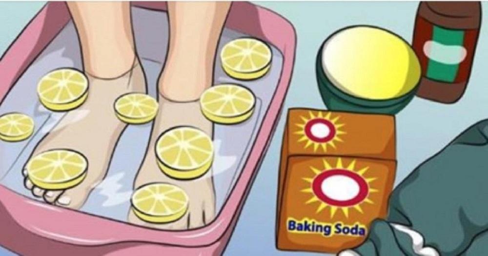 Ce simple  bain de pieds peut aider à détoxifier tout votre corps!