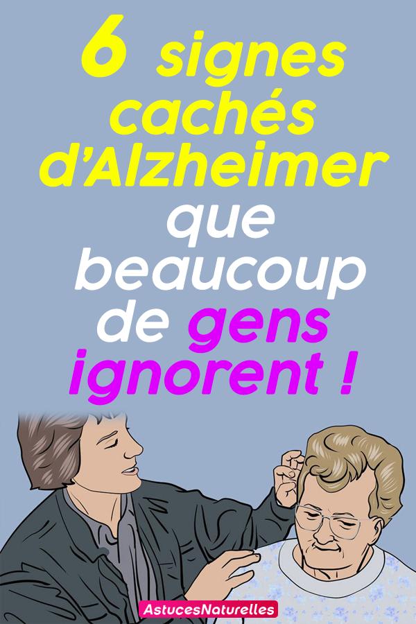 6 signes cachés d'Alzheimer que beaucoup de gens ignorent !