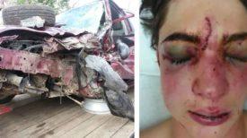 Un jeune de 17 ans décroche son téléphone en conduisant : des photos de l'accident illustrent les lourdes conséquences qu'a eues ce geste