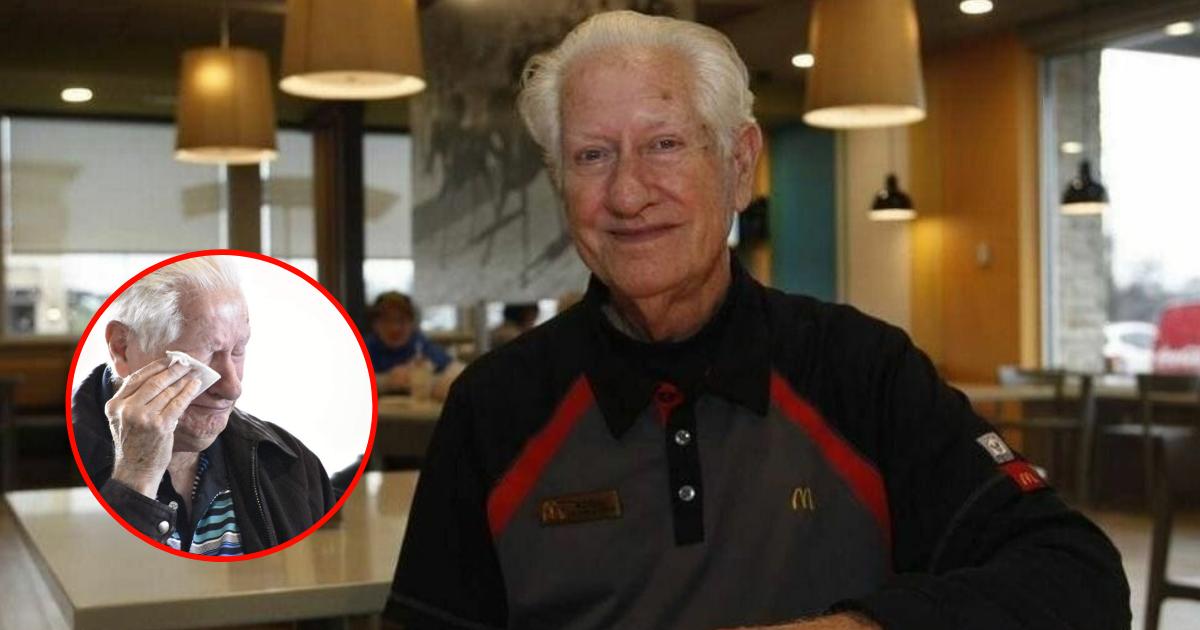 Un homme de 85 ans n'ose pas prendre sa retraite, la raison va plus que vous émouvoir!!