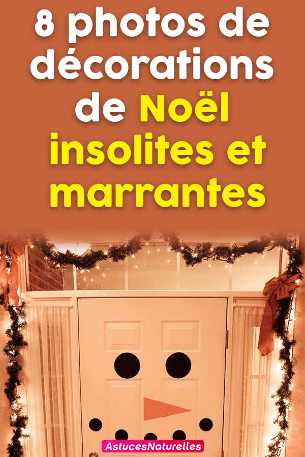 8 photos de décorations de Noël insolites et marrantes