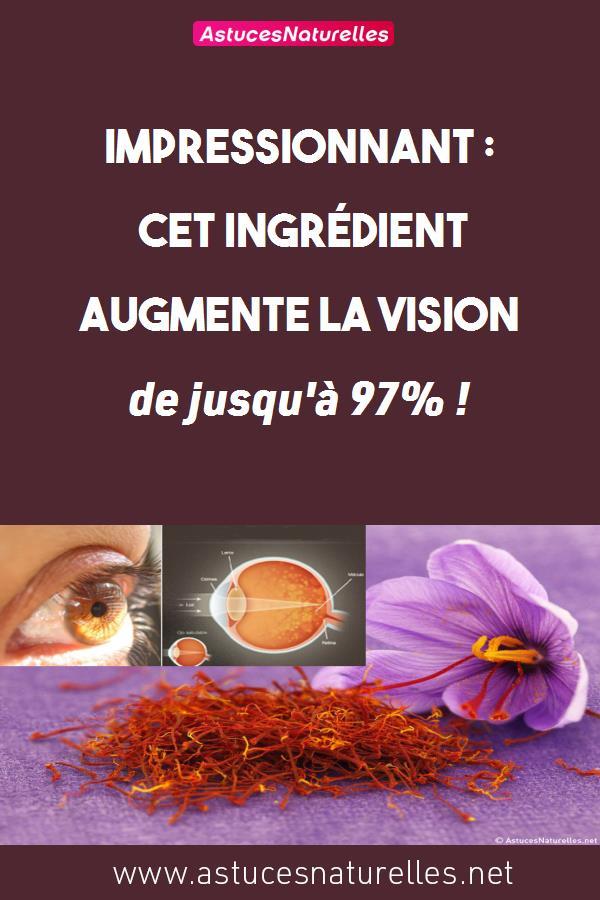 Impressionnant : Cet ingrédient augmente la vision de jusqu'à 97% !