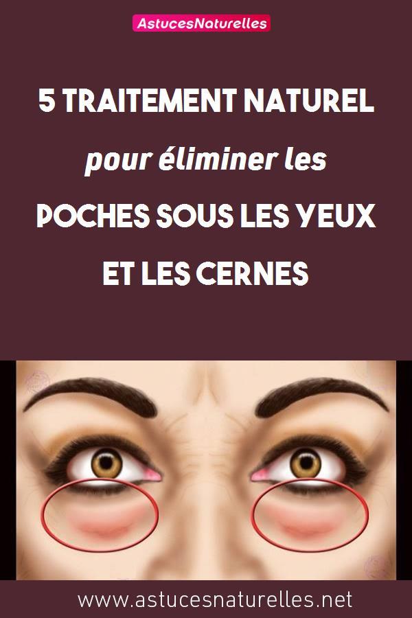 5 traitement naturel pour éliminer les poches sous les yeux et les cernes