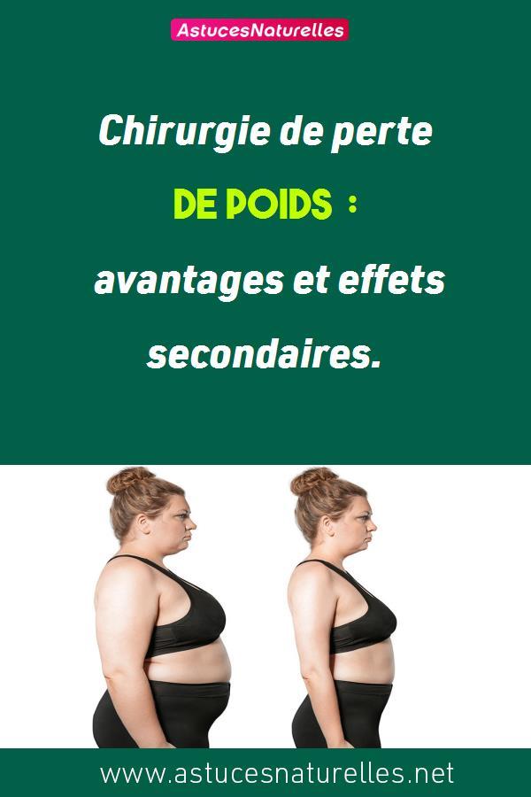 Chirurgie de perte de poids : avantages et effets secondaires.