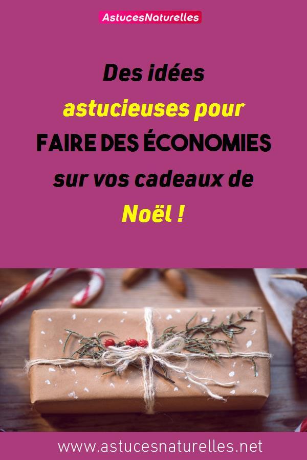 Des idées astucieuses pour faire des économies sur vos cadeaux de Noël !