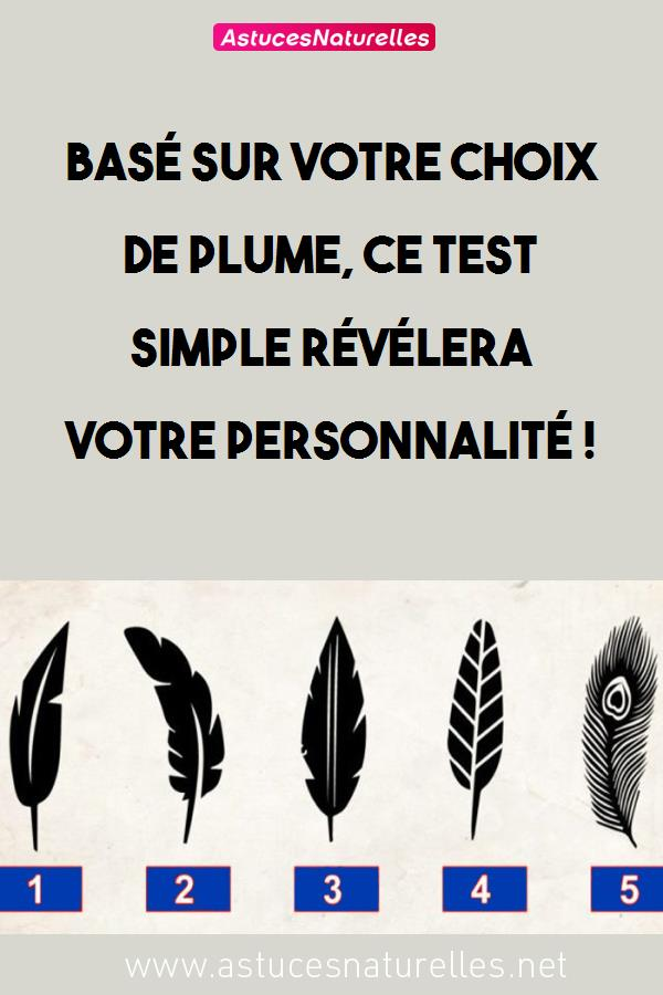 Basé sur votre choix de plume, ce test simple révélera votre personnalité !
