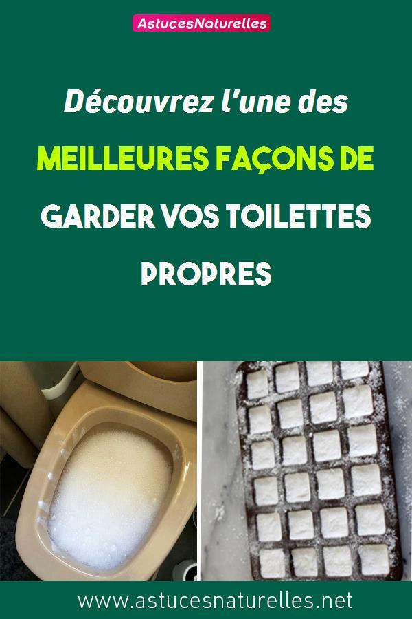 Découvrez l'une des meilleures façons de garder vos toilettes propres