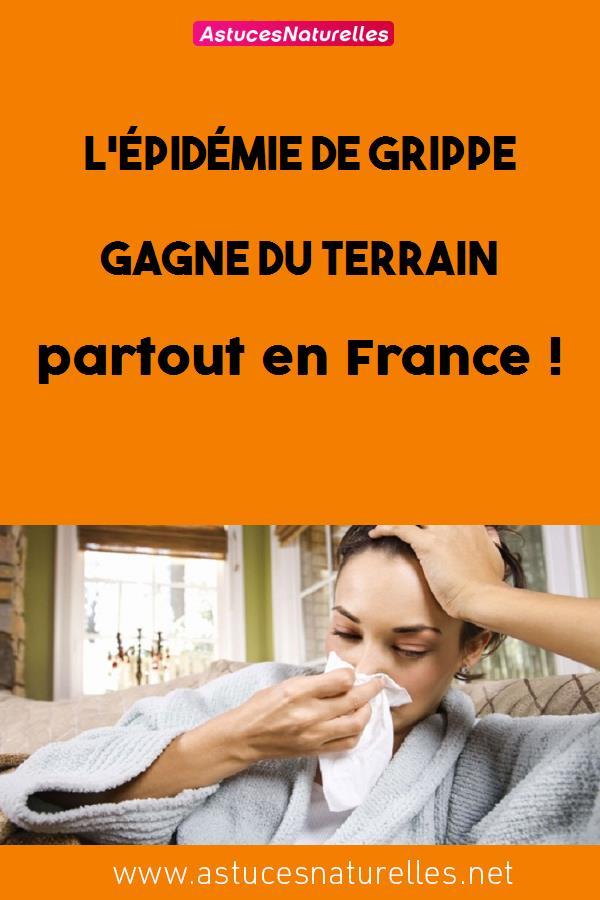 L'épidémie de grippe gagne du terrain partout en France !