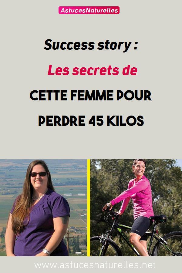 Success story : Les secrets de cette femme pour perdre 45 kilos