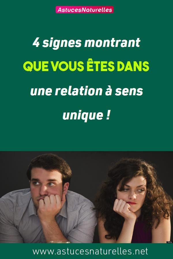 4 signes montrant que vous êtes dans une relation à sens unique !