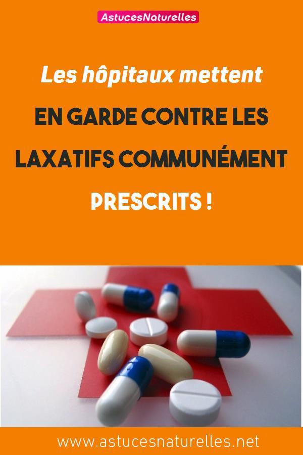 Les hôpitaux mettent en garde contre les laxatifs communément prescrits !