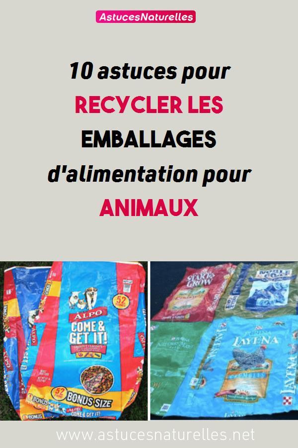 10 astuces pour recycler les emballages d'alimentation pour animaux