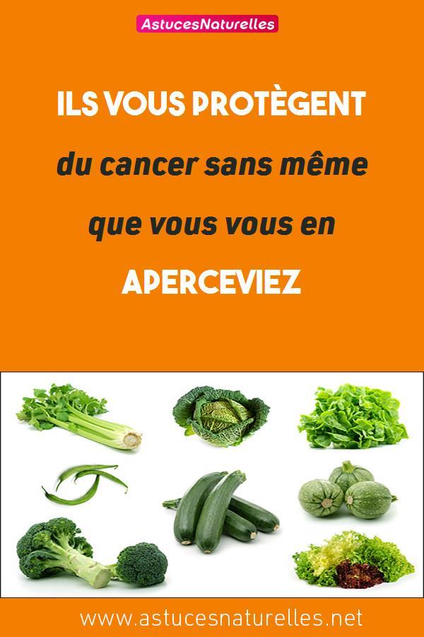 Ils vous protègent du cancer sans même que vous vous en aperceviez