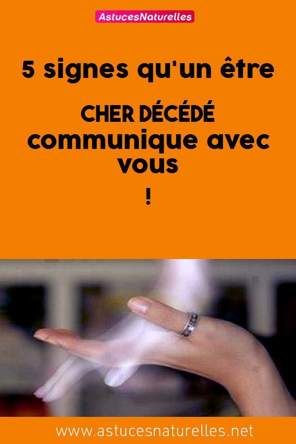 5 signes qu'un être cher décédé communique avec vous !