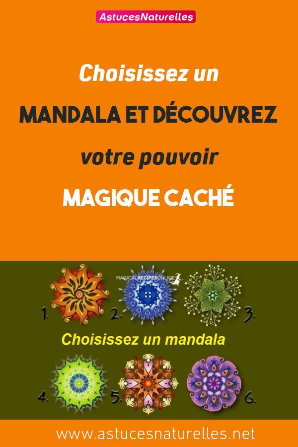Choisissez un mandala et découvrez votre pouvoir magique caché