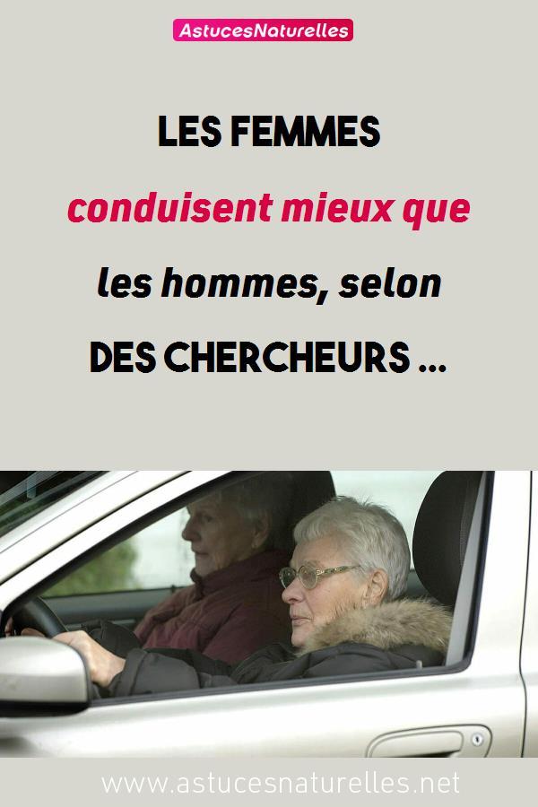 Les femmes conduisent mieux que les hommes, selon des chercheurs …