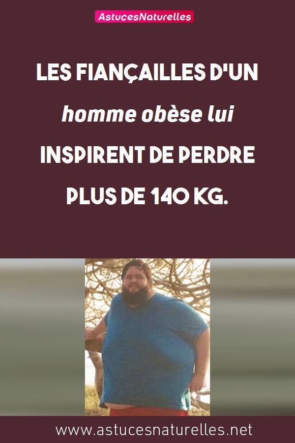Les fiançailles d'un homme obèse lui inspirent de perdre plus de 140 kg.