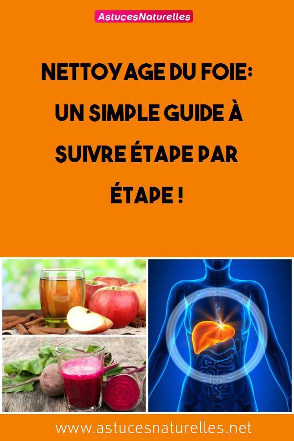 Nettoyage du foie: un simple guide à suivre étape par étape !