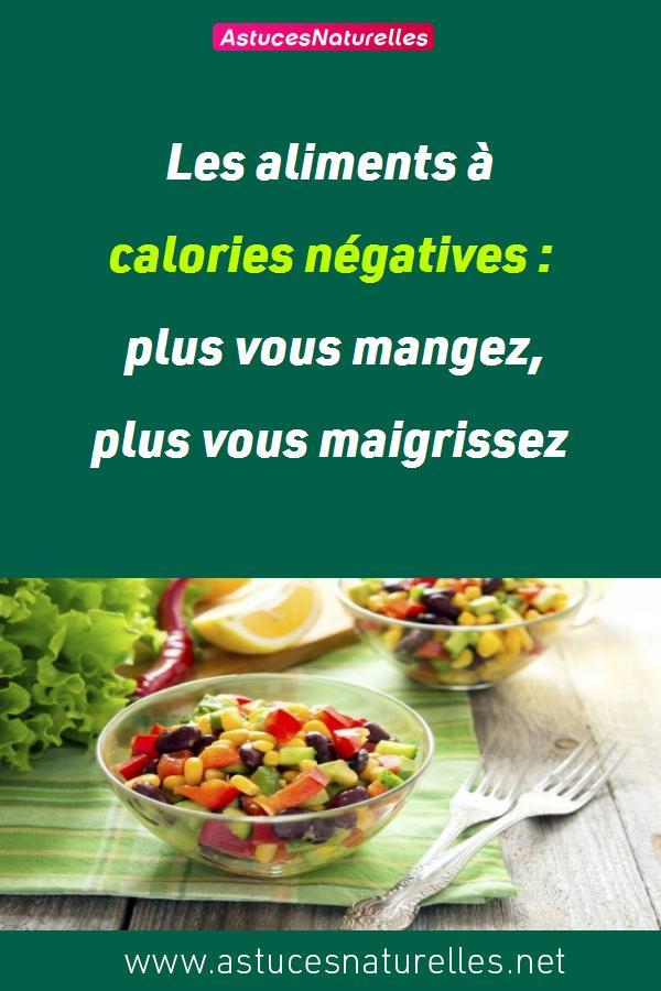 Les aliments à calories négatives : plus vous mangez, plus vous maigrissez