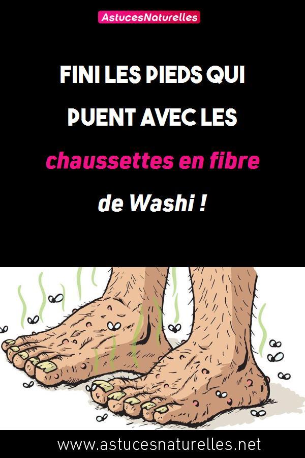 Fini les pieds qui puent avec les chaussettes en fibre de Washi !