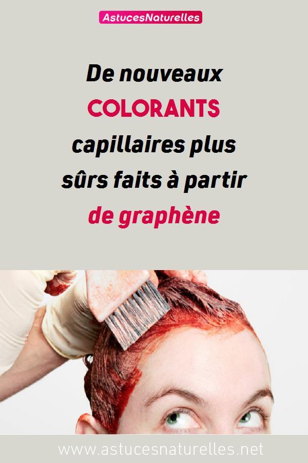 De nouveaux colorants capillaires plus sûrs faits à partir de graphène