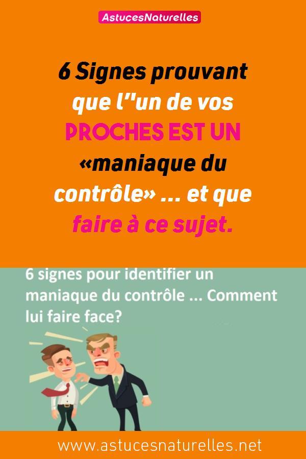 6 Signes prouvant que l''un de vos proches est un «maniaque du contrôle» … et que faire à ce sujet.
