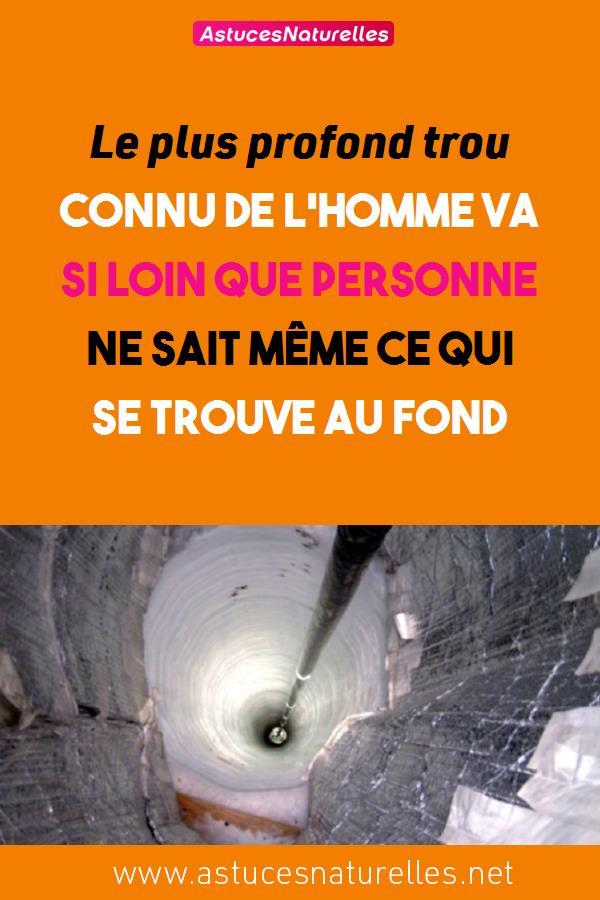 Le plus profond trou connu de l'homme va si loin que personne ne sait même ce qui se trouve au fond