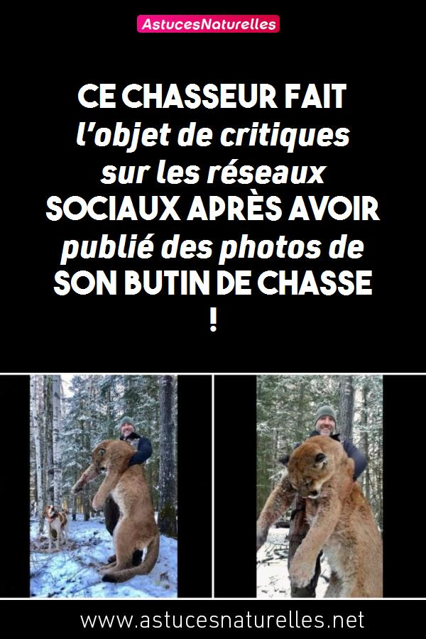 Ce chasseur fait l'objet de critiques sur les réseaux sociaux après avoir publié des photos de son butin de chasse !