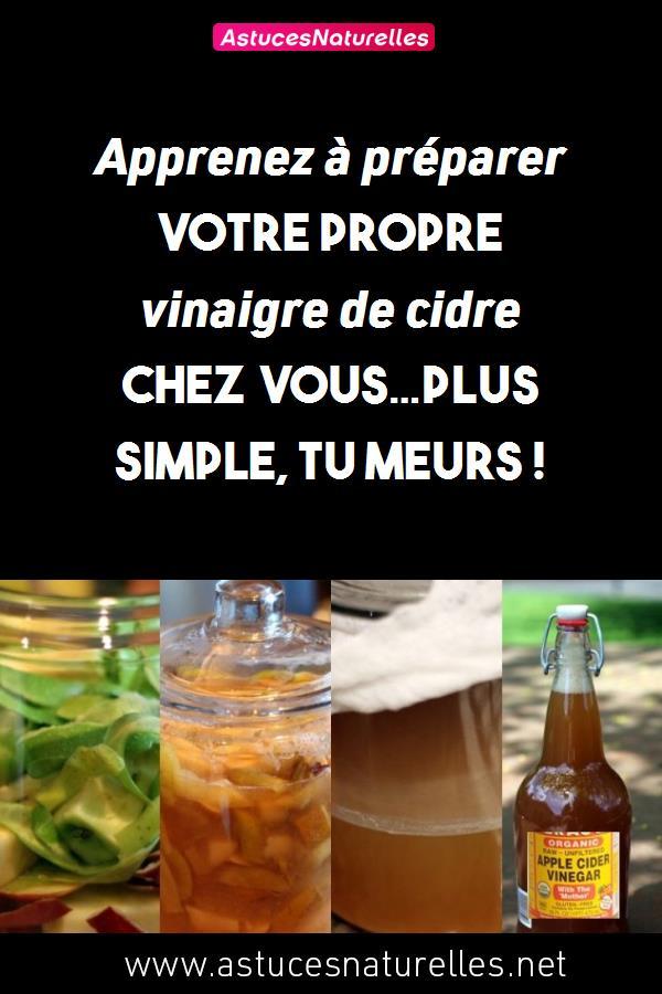 Apprenez à préparer votre propre vinaigre de cidre chez vous…Plus simple, tu meurs !