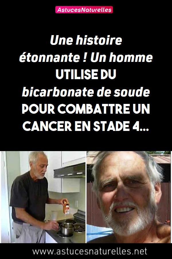 Une histoire étonnante ! Un homme utilise du bicarbonate de soude pour combattre un cancer en stade 4…