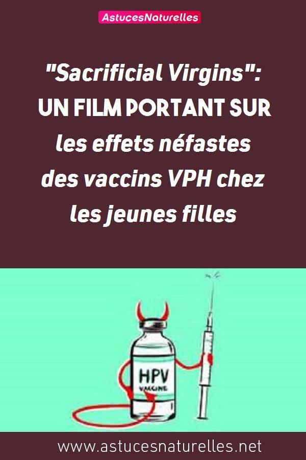 «Sacrificial Virgins»: un film portant sur les effets néfastes des vaccins VPH chez les jeunes filles