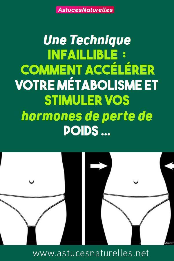 Une Technique Infaillible : Comment accélérer votre métabolisme et stimuler vos hormones de perte de poids …