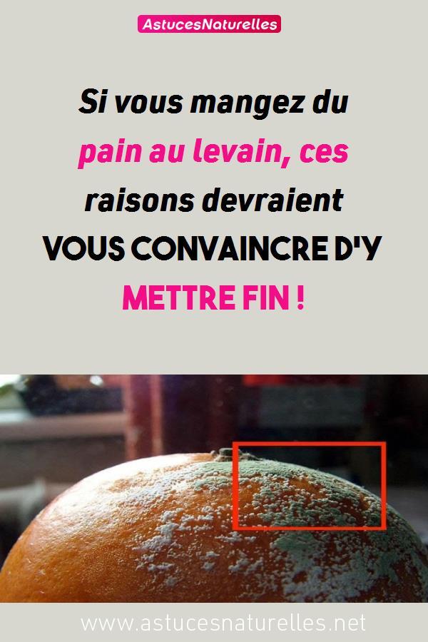 Si vous mangez du pain au levain, ces raisons devraient vous convaincre d'y mettre fin !